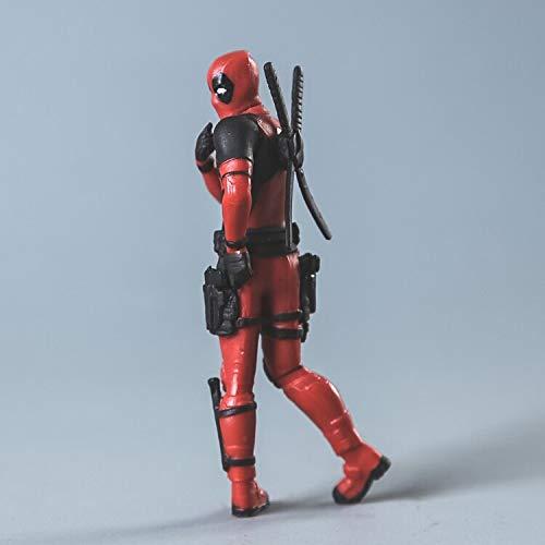 Amazon.com: VIETFR 7Cmx5Cm Mini Deadpool Action Figure The ...