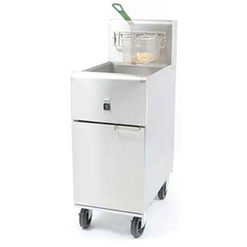 Dean SR14E 40 lb. Oil Capacity Value Electric Fryer