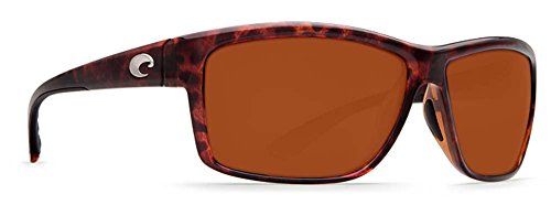 Costa Del Mar Mag Bay Sunglasses, Tortoise, Copper 580P - Sun Online Copper
