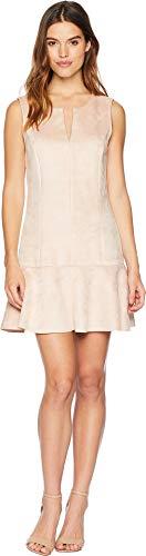 BCBGMAXAZRIA Women's Flare Skirt Dress Bare Pink X-Large (Bcbgmaxazria Dress Women)