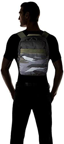 Medio de Lado Print 313 Klein Sintético Bolsa Hombre Verde K50K502217 Cargo Calvin 313 Jeans de qXxITwYY