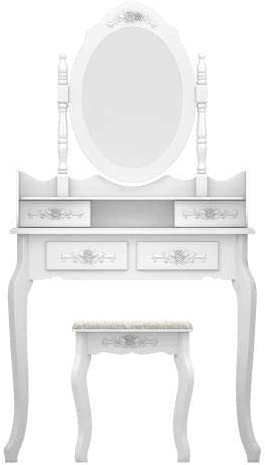 NANA SUN Vanity Set,Makeup Table