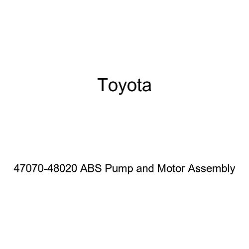 Abs Assembly Pump - Toyota 47070-48020 ABS Pump and Motor Assembly