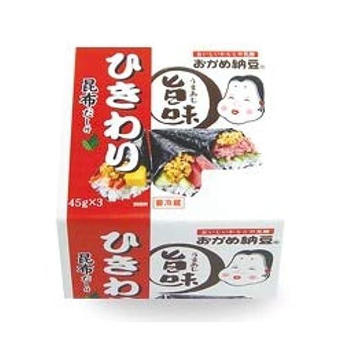 タカノフーズ おかめ納豆 旨味ひきわりミニ