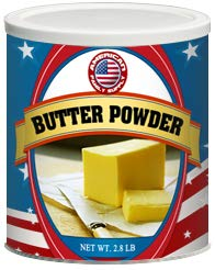 Fresh and Honest Foods Butter Powder 44.8 OZ #10 Can