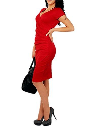 Buy below knee length sheath dresses - 8