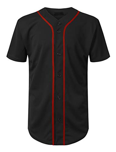 Mersenne Men's Baseball Jersey