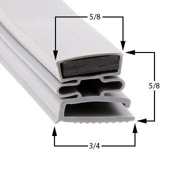 Progressive Refrigeration Part# AF2323 Magentic Door Gasket