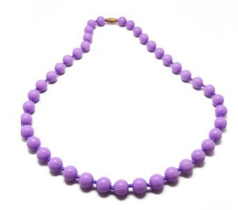 Fashionable Silicone Teething Necklace for Mom to Wear with Teething Baby - Lisa (Lilac) by Unique Baby   B00SJUBBJM
