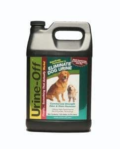 UrineOff Pet Odor Stain Remover Dog Puppy Formula 1 Gal