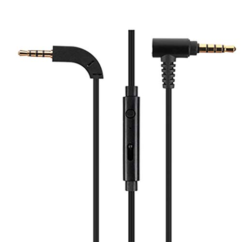 Micity Replacement Cable for B&W Bowers & Wilkins P9 Headphones (Mic) (P7 B&w)