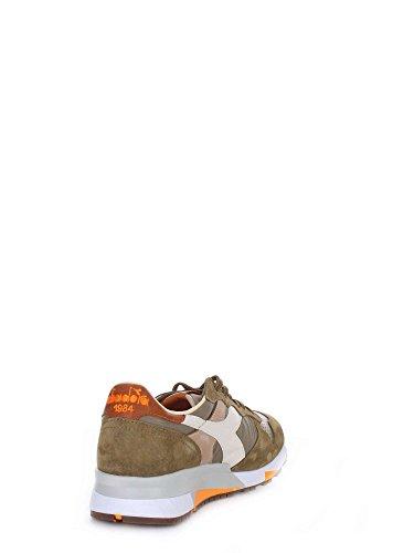 Diadora Heritage - Trident 90 NYL Verde Oliva Bruciato - Sneakers Homme