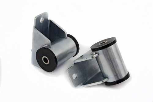 Daystar, Jeep Polyurethane Motor Mounts 4.0 Liter 6 Cyl. Engine, fits 1986 to 2006 Comanche, TJ, XJ, YJ 2/4WD, KJ01004BK, Black, Made in America (Jeep Wrangler Engine 89)