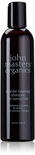 John Master Organics Shampoo for Normal Hair, Lavender Rosemary, 8 Fluid Ounce