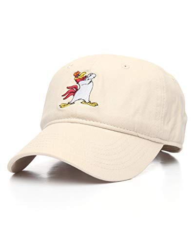 Warner Bros. Men's Looney Tunes Foghorn Leghorn Baseball Cap, Stone, One Size