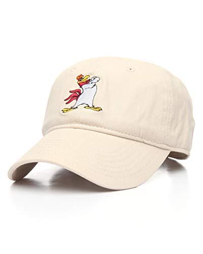 Warner Bros. Men's Looney Tunes Foghorn Leghorn Baseball Cap, Stone, One -