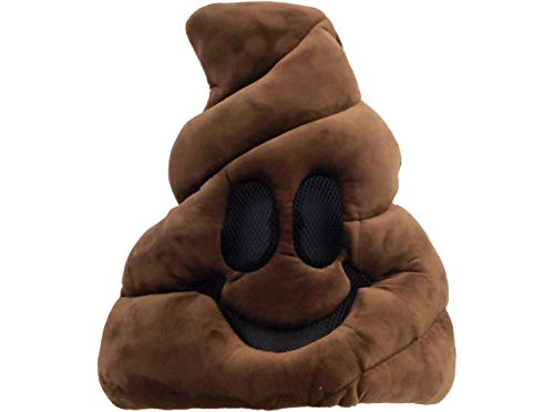 Accessory Innovations LLC Oversized Poop Icon Mask Halloween Costume Accessory, One Size -