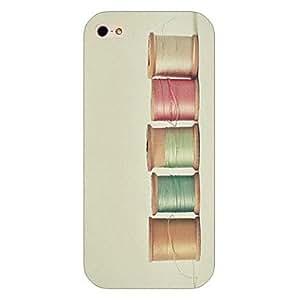 WQQ Cubierta Posterior - Gráfico/Dibujos Animados/Innovador - para iPhone 5/iPhone 5S ( Multicolor , Plástico )