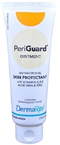 PeriGuard Antimicrobial Protectant Barrier Cream, 3.5 OZ Size, 24 Each by Dermarite Industries (Guard Barrier Cream)