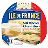 ile de france single serve brie cheese bite 0 9 ounce 60 per case grocery. Black Bedroom Furniture Sets. Home Design Ideas