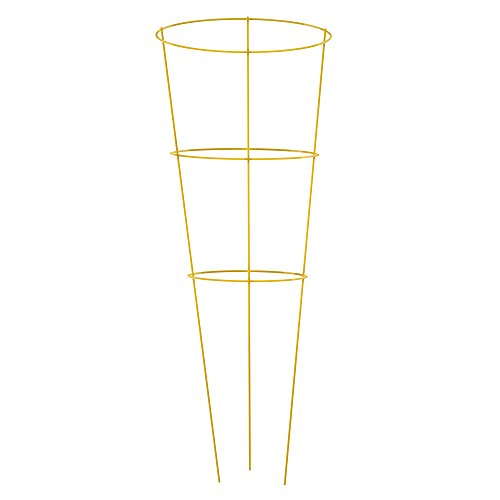 Gilbert & Bennett 901594YE-5 Yellow 42'' Galvanized Tomato Cages, 5 Pack by Gilbert & Bennett