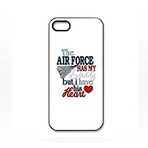 SOL Air Force Pattern Plastic Hard Case for iPhone 5/5S
