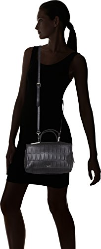 Gaudì V7ai-70589 Small Top Handle Bag-Linea Allison, Borsa a Mano Donna, Nero (Black), 27 x 17 x 15 cm (W x H x L)