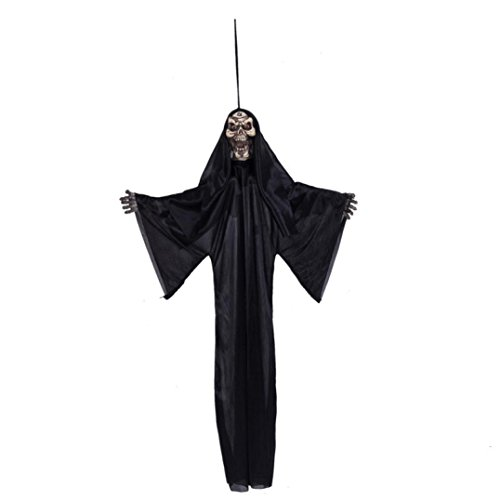 [Oksale® Halloween Prop Hanging Grim Reaper Scary Decoration Outdoor Decor for KTV Bar Haunted] (80s Prom King And Queen Costume)