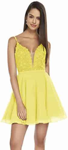 9cefad2831a71 Shopping 1 Star & Up - V-Neck - Yellows - XXL - Dresses - Clothing ...