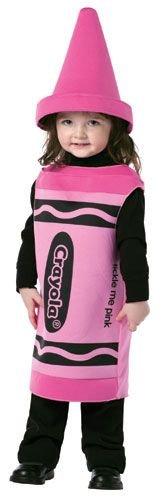Rasta Imposta Crayola Tickle Me, Pink, (Pink Crayon Halloween Costume)