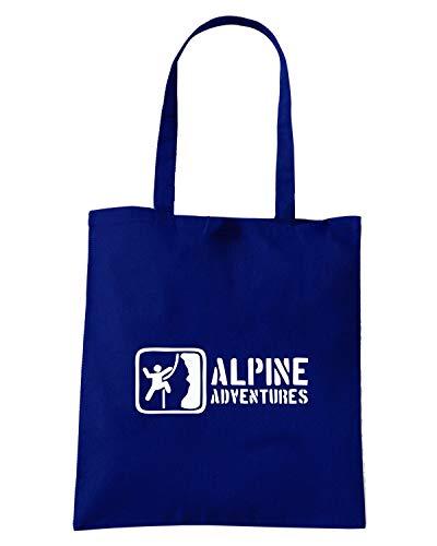 Speed Shirt Borsa Shopper Blu Navy SP0003 ALPINE ADVENTURES2