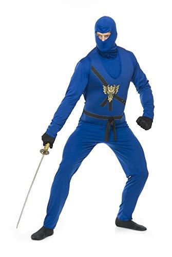 Charades Men's Ninja Avengers Costume Series I, Blue, -