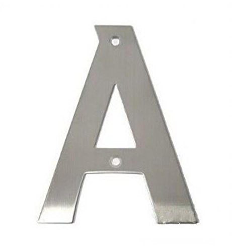 Smedbo Home Decorative Accessories House Letter A Black Stainless Steel
