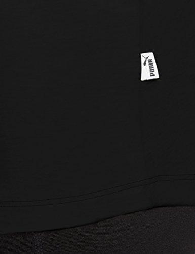 Ess Logo Black Cotton Tank Puma 8dx7p8