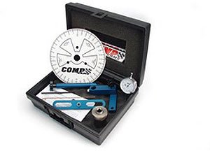 Competition Cams 4942 Camshaft Degree Kit for GM Gen III/IV LS-Type, Cylinder heads OFF Engine