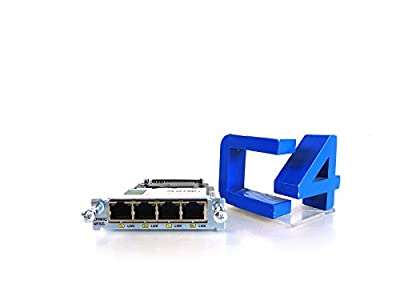 Cisco Systems EHWIC-4ESG= 4 Port 10/100/1000 Ethernet Switch Interface Card