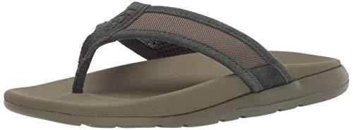 (UGG Men's TENOCH Ballistic Sandal Flip-Flop Forrest Night 12 Medium US)
