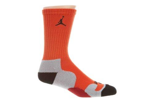 Jordan Game Dry Crew Mens441342 Grigio / Arancio-marrone-nero
