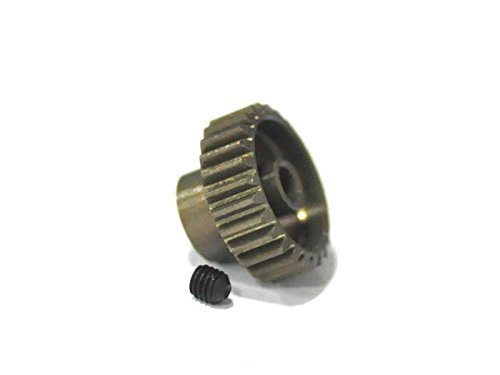26t Gear (Hardcoated Aluminum 26T 48p Pinion Gear 48 Pitch - Associated Losi TLR Traxxas HPI)