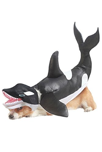 Fashion Shamu Killer Whale Dog Pet Costume New - Killer Whale Costume For Dogs