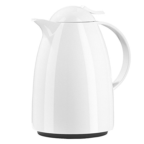 Emsa 34-Ounce Auberge Quick Tip Carafe, White by Emsa