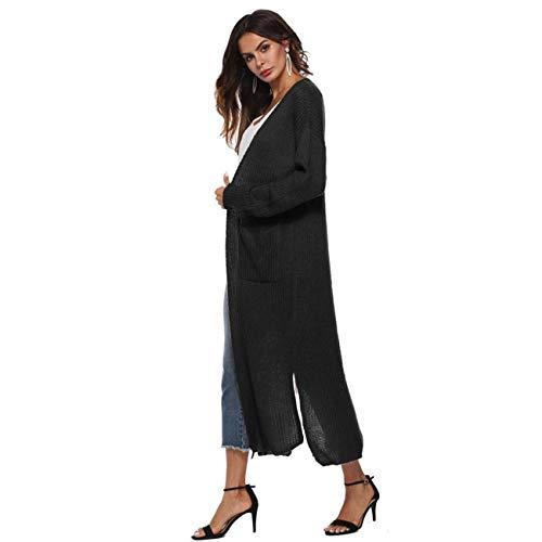 Et Outwear Longues Rayé Noir Casual Ouvert Tops Kimono Taille Manches Medium Capuche Hiver Automne Sweat Rose Femmes À Mode Dames Cape Set coloré dWB0acqP