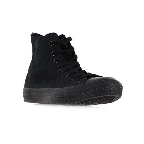 Converse Chuck Taylor All Star Hi Top Black Monochrome Canvas Shoes  men's 12 ()