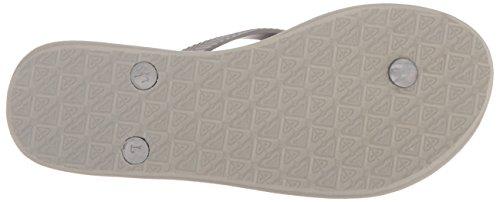 Grey Roxy Flop 's Flop Women Bermuda Sandalia Flip 3 White Flip AqwT81A