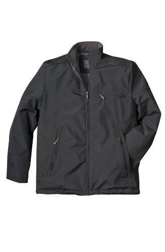 VEDONEIRE Herren Schwarzes Wasser Beständig Resistant Jacket (3040) GRÖßE M bis 3XL Steppfutter Regen Mantel
