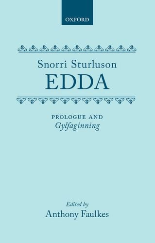 Edda  Prologue And Gylfaginning  Tales From Norse Mythology