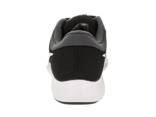 NIKE Womens Revolution 4 Black/White Anthracite Running Shoe 10 Women US