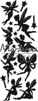 - Marianne Design Craftables,Fairy Cutting and Embossing Die for Craft Projects, Argent