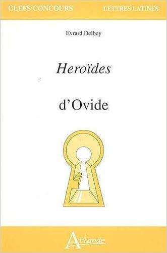 En ligne téléchargement Héroïdes d'Ovide pdf, epub ebook