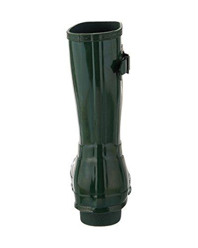 Hunter Low Wellington Boots, Botas de Agua Para Mujer Verde (Green Hgr)